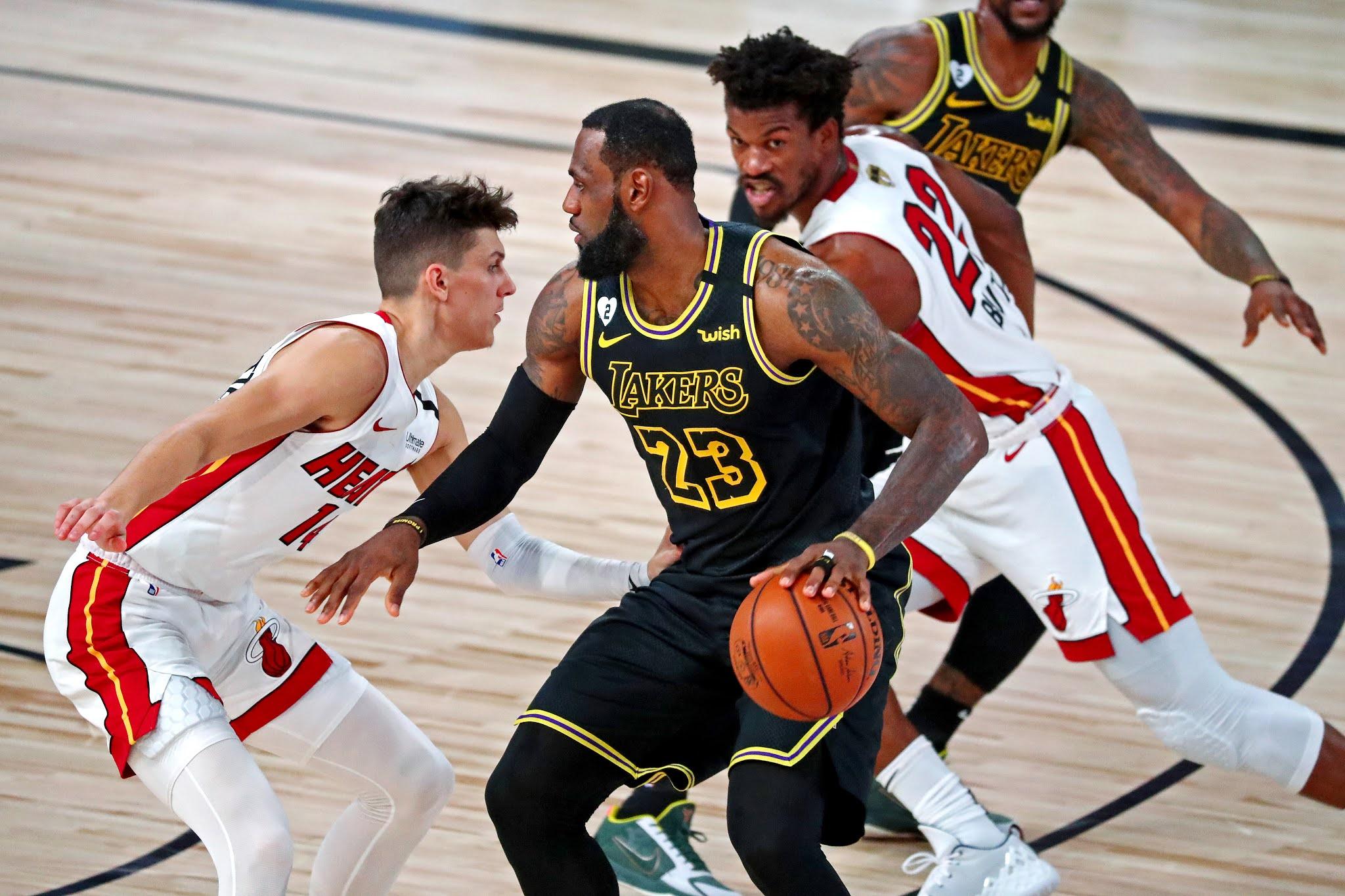 Finals NBA 2020 Lakers vs Miami