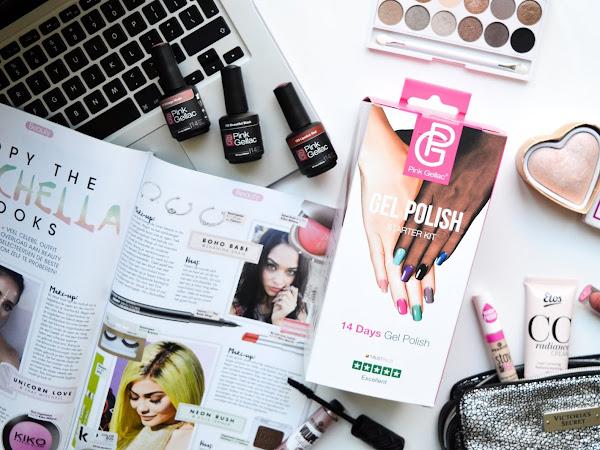 Pink Gellac Gel Polish starter kit   Review