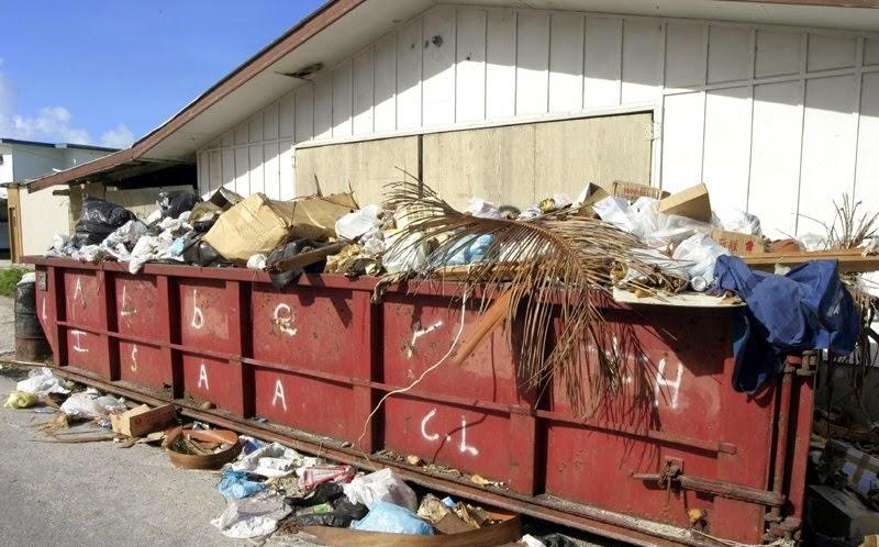 Waste in Majuro