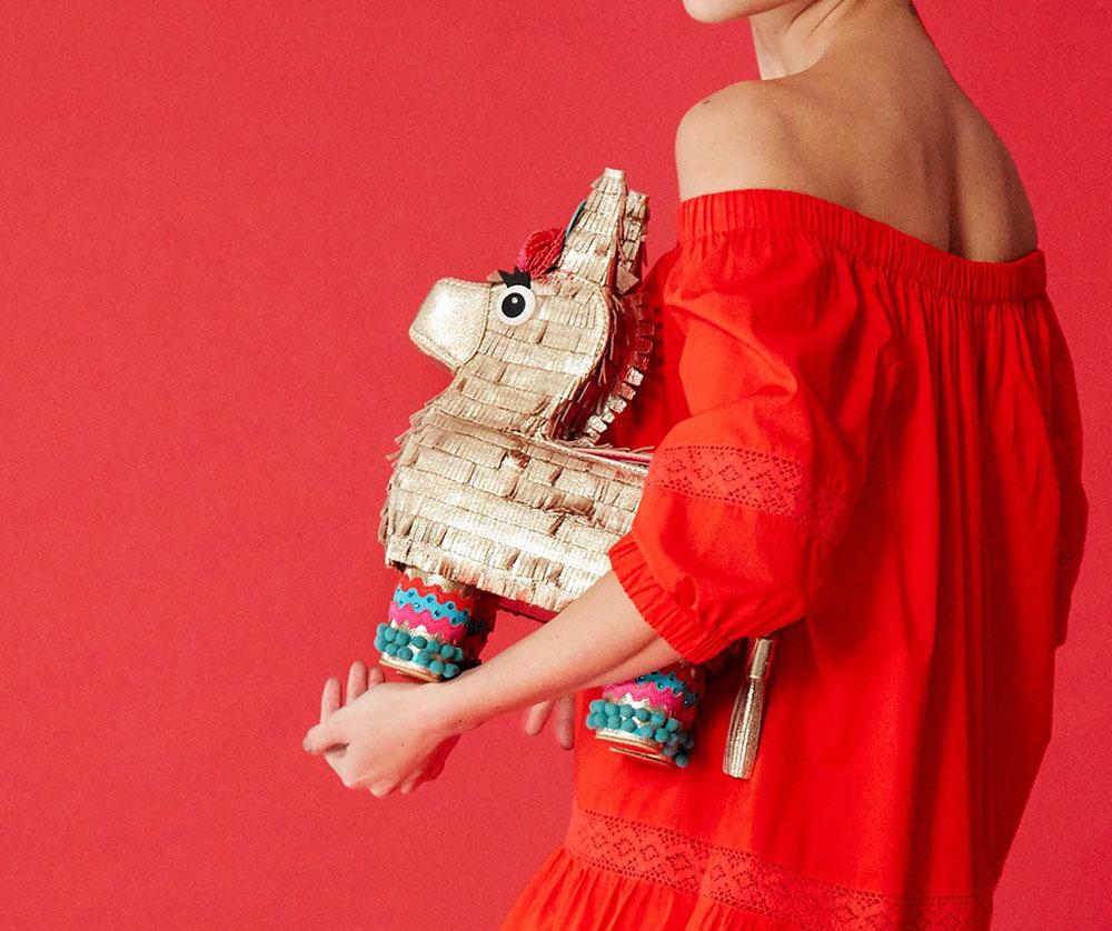 Kate Spade's Donkey Piñata Bag