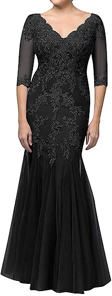 Good Quality Black Mother of The Bride Dresses