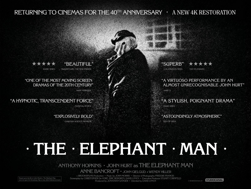 the elephant man poster