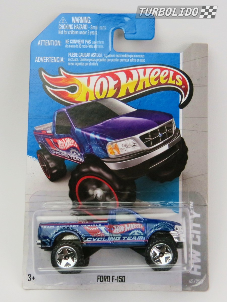 Turbolido Cars Hot Wheels Ford F150 Hw X1884 Truck Pickup
