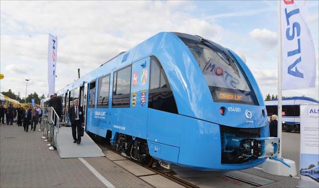 ألمانيا تدشن أول قطار هيدروجيني في العالم
