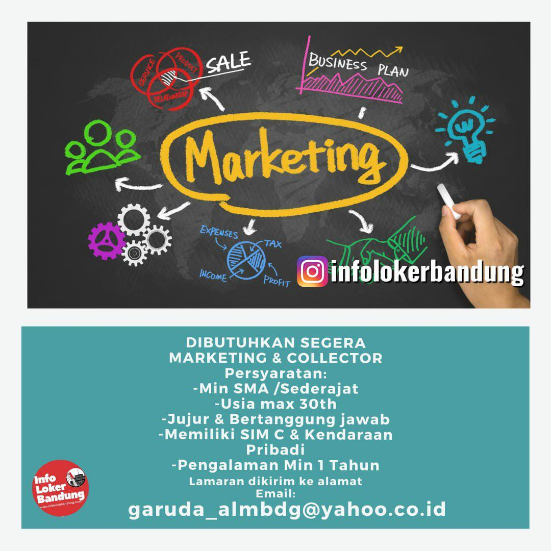 Lowongan Kerja Marketing & Kolektor CV. GRD Jaya Bandung November 2019