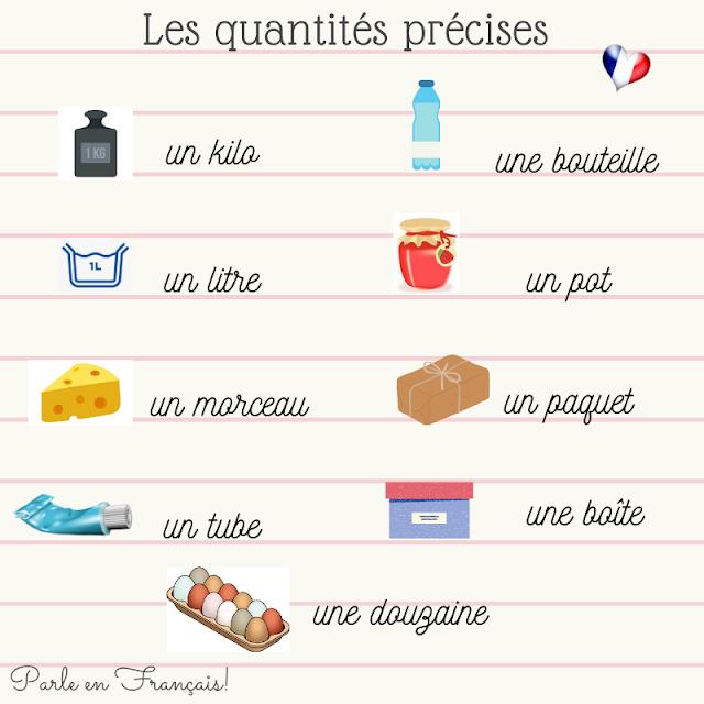 Wyrażanie ilości - gramatyka 6 - Francuski przy kawie