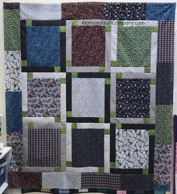 Block talk pattern with golf panel