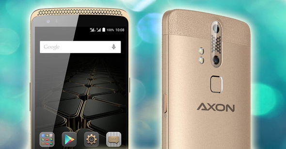 Europe reaches the ZTE Axon with dual camera and recording in 4K