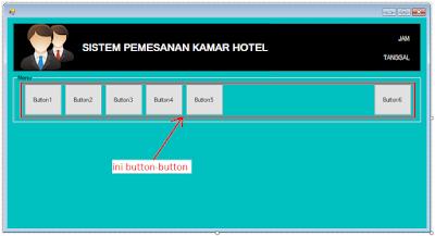 9 - Part3 Menciptakan Aplikasi Hotel Dengan Vb.Net + Database Mysql – Menciptakan Form Utama
