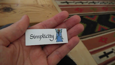 Simplicty, the best advice from the Angel Cards