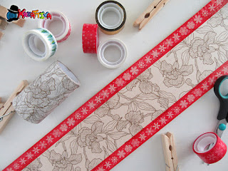 decorare con i washi tape