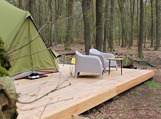 Bijzonder overnachten in een luxe tent van Beau Glamping op de Veluwe