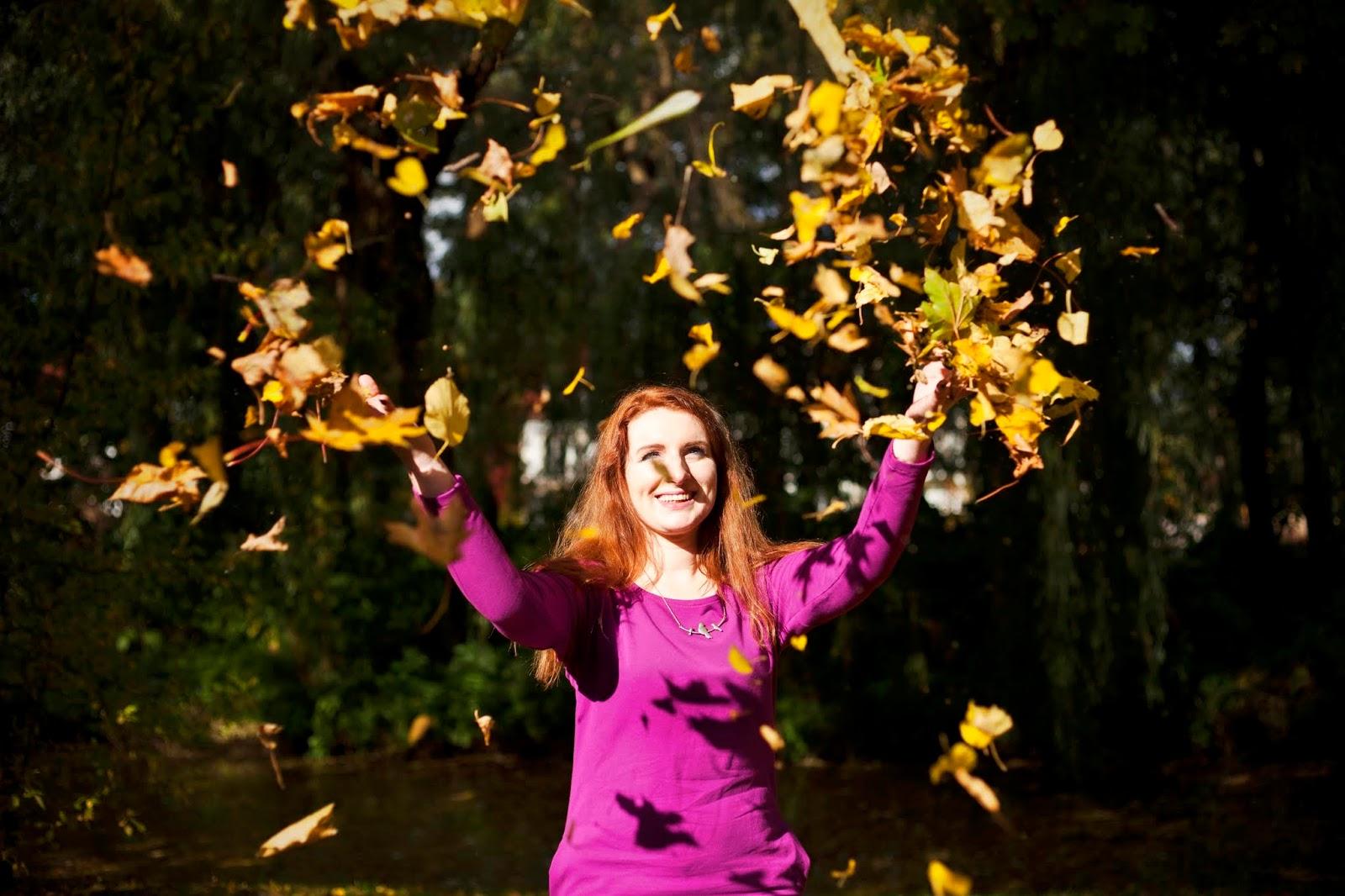 Hello autumn! Bądź kolorowa jak moja sukienka