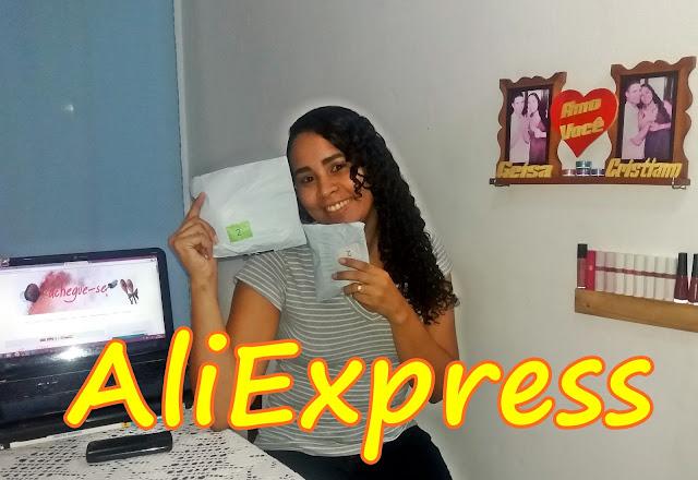 Achegue-se! Comprinhas: AliExpress - Unboxing / Pincéis baratos unboxing
