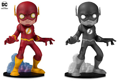 DC Comics Artists Alley The Flash Standard Edition & Black and White Variant Statues by Chris Uminga