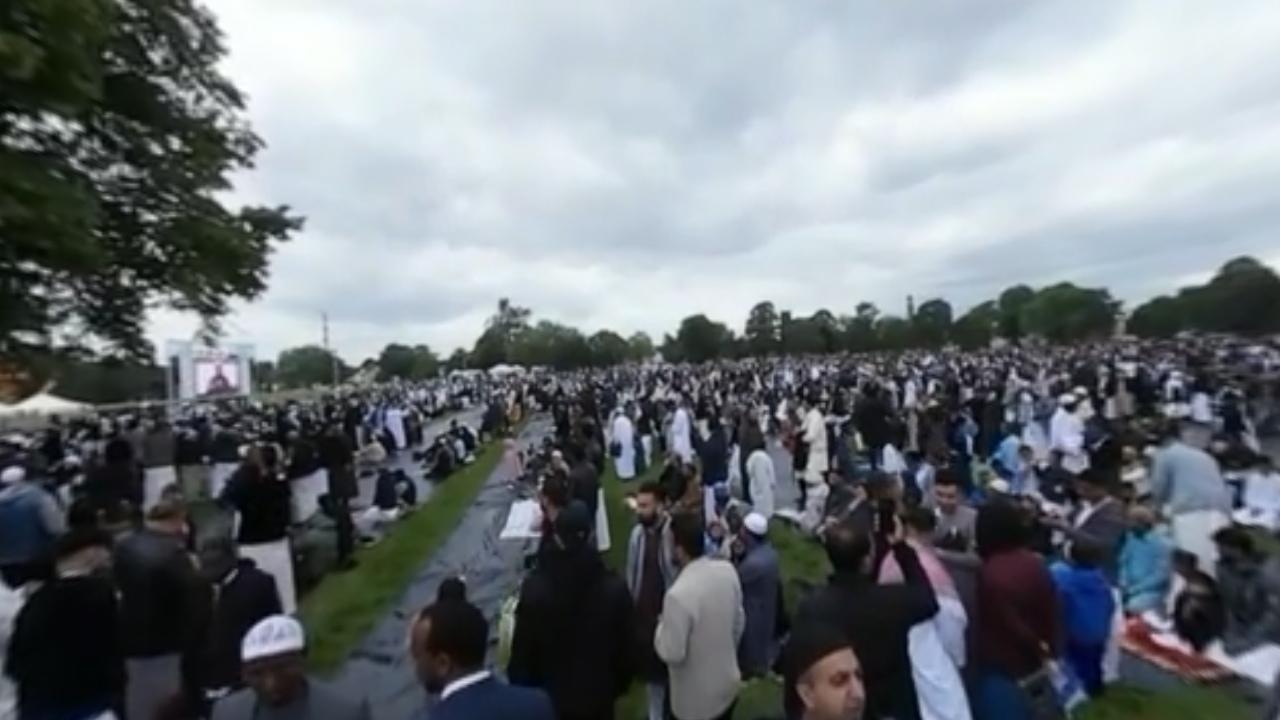Masya Allah... Begini Suasana Idul Fitri Terbesar di Eropa