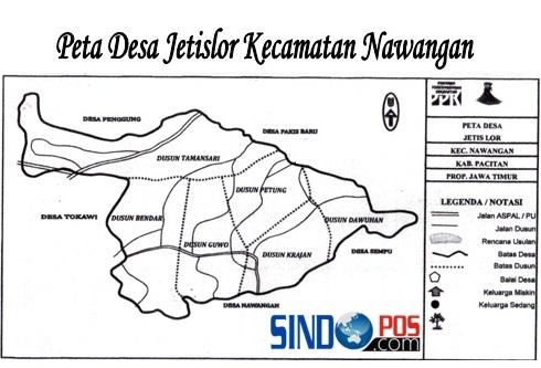 Profil Desa & Kelurahan, Desa Jetis Lor Kecamatan Nawangan Kabupaten Pacitan