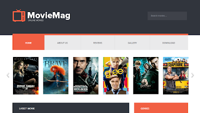 Movie Mag Responsive Blogger Template