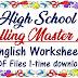 High School Spelling Master List