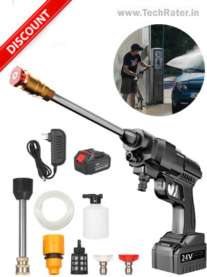 Wireless High-Pressure Car washer