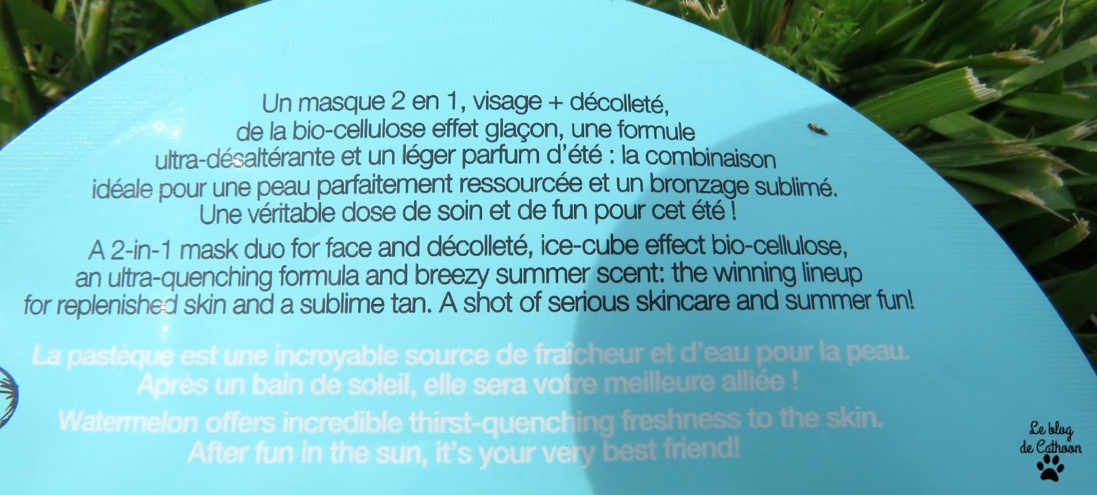 Masque Après-Soleil Pastèque Sephora