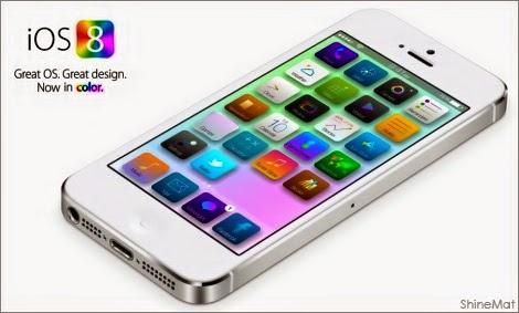 apple new ios 8