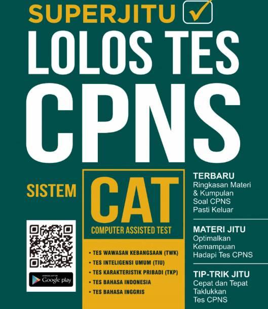 Buku Super Jitu Lolos Tes CPNS 2019-2020