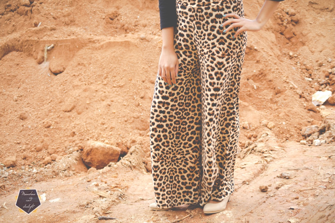 How to wear Animal Prints Palazzo pants , Bangalore Fashion Blogger