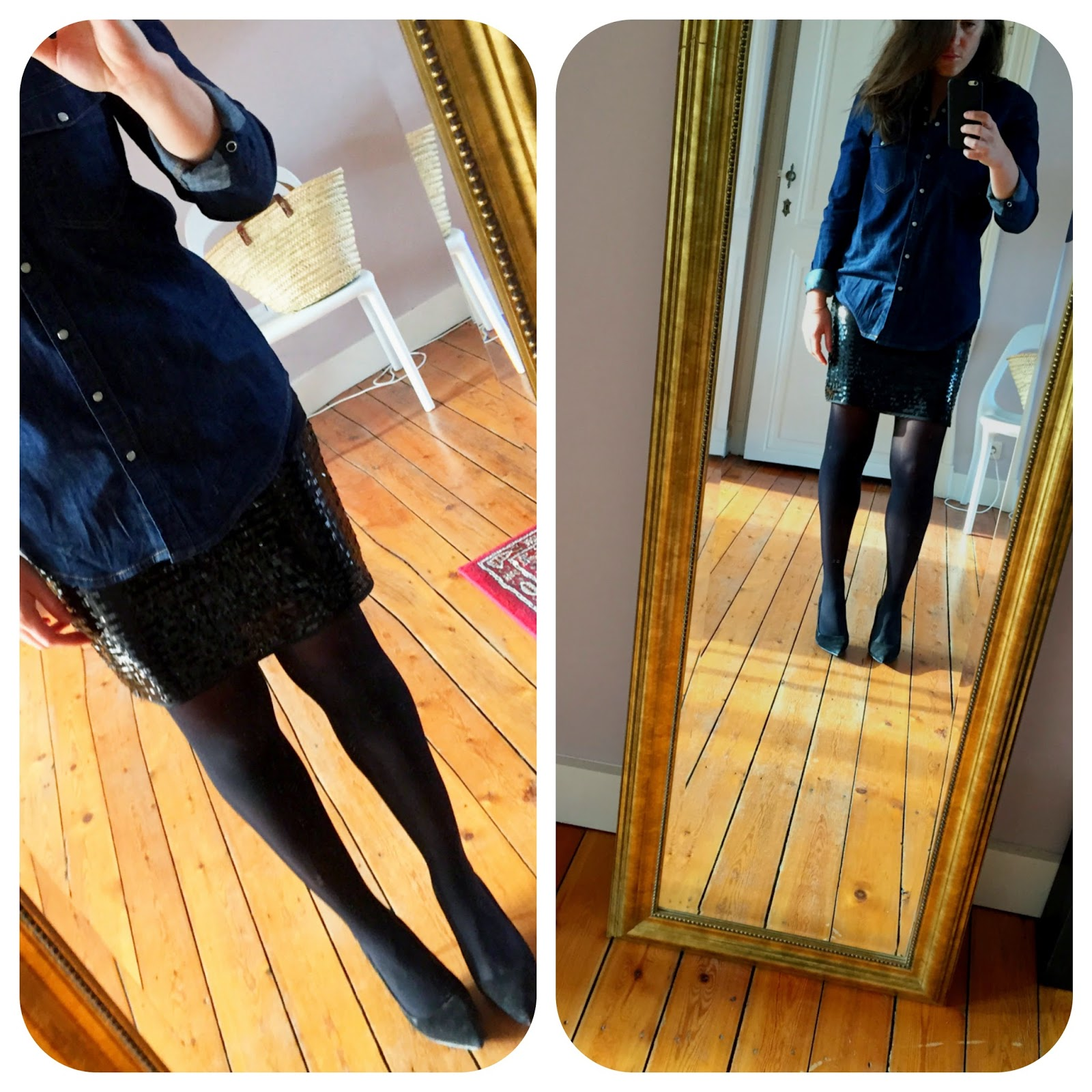 1 outfit, 2 styles