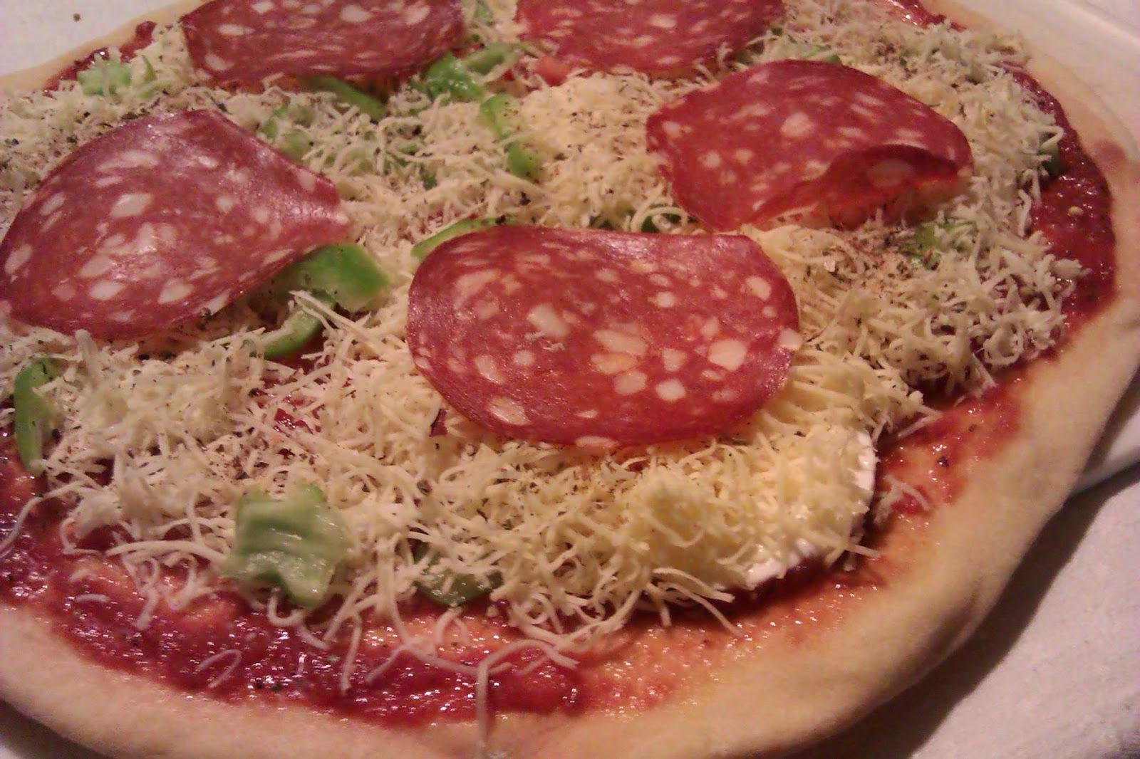 Pre-baked Pizza Dough