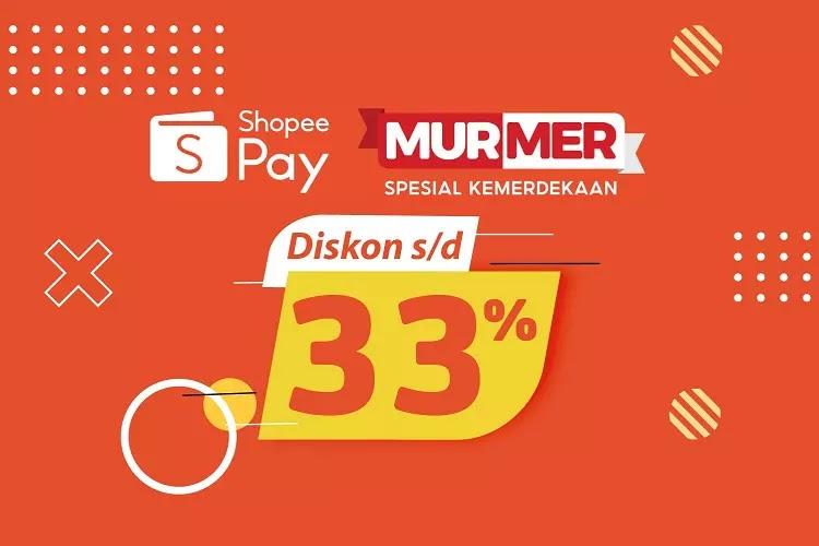Promo ShopeePay Murmer Alfamart 1-15 Agustus 2021