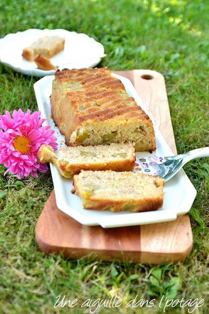 Gâteau fondant à la chapelure coco-mangue