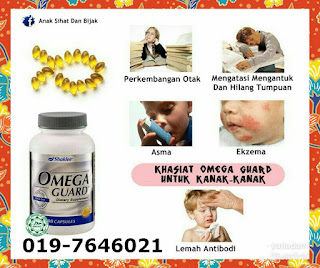 testimoni omega guard untuk kanak-kanak