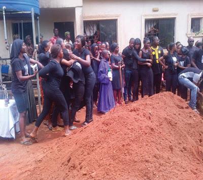 Oluchi Anekwe's Burial Amidst Tears