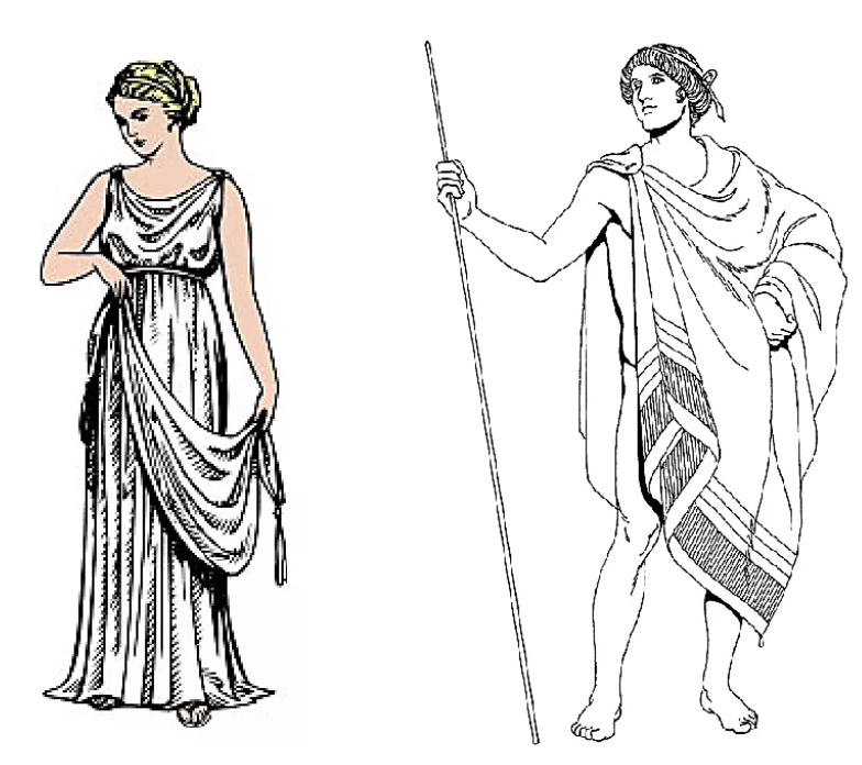 что костюм древнего греции картинки название