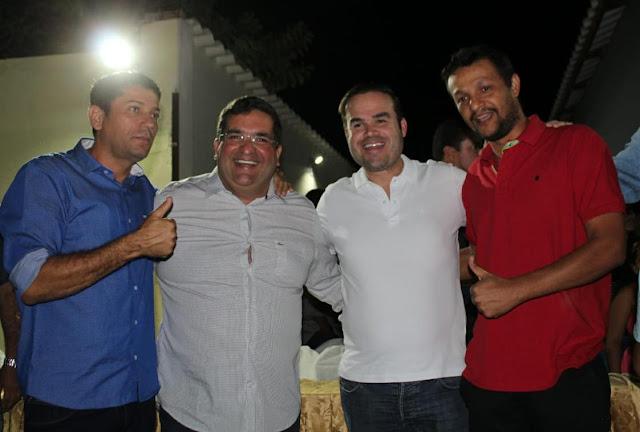 São Félix do Coribe reitera apoio a Antonio Henrique Júnior e Cacá Leão