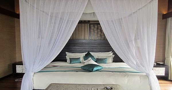 Curtain Ideas White Sheer Canopy Bed