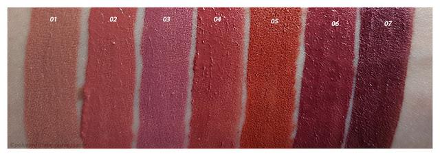 Swatches Lip Tint PuroBIO