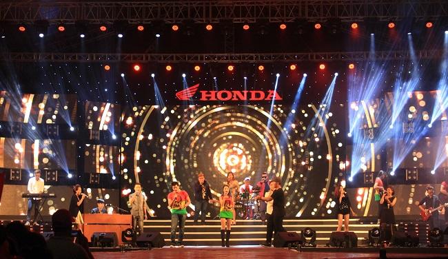 Gần 2 triệu lượt khách tham gia Be U+ with Honda 2015