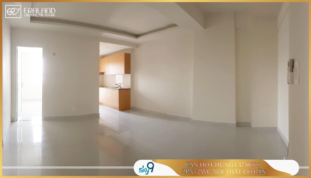 căn hộ chung cư sky 9 có 2 phòng ngủ