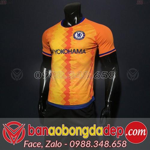 Áo Câu Lạc Bộ Chelsea Cam 2019 Training 7