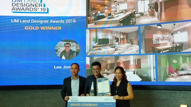 Lee Jun Yan rebut anugerah EMAS IJM Land Designer Awards 2019 @ iLDA 2019