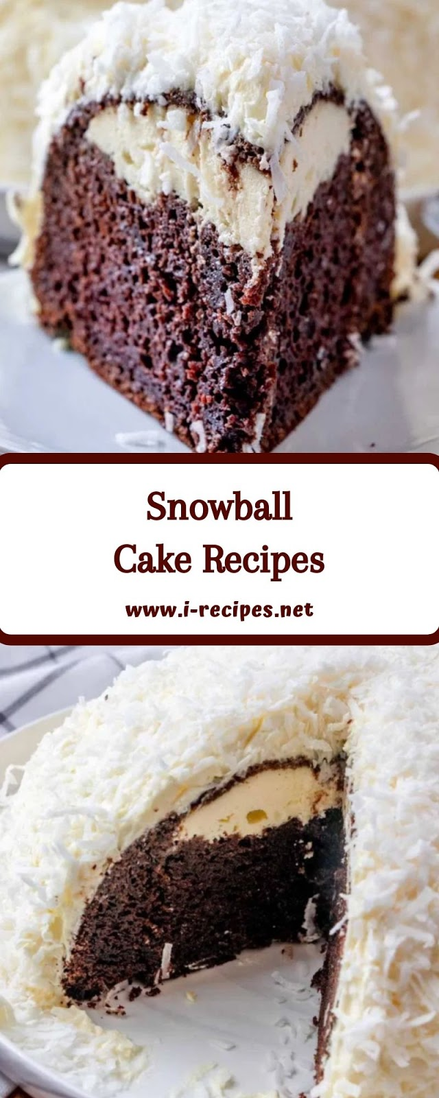 Snowball Cake Recipes