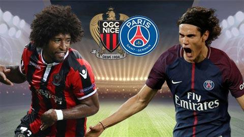 Đêm nay, Nice sẽ tiếp PSG trên sân nhà