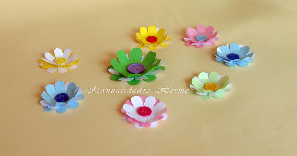 Manualidades herme como hacer flores de papel paso a paso - Www como hacer flores com ...