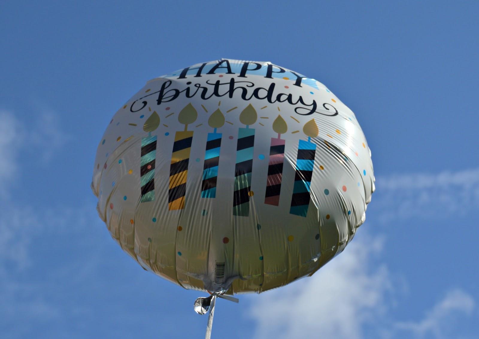 Moonpig Happy Birthday Balloon