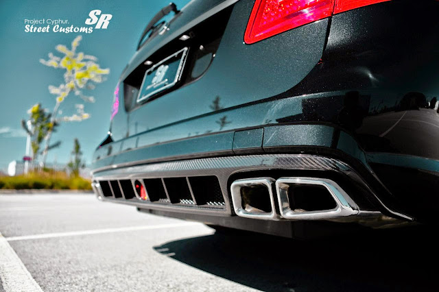 e63 amg wagon exhaust