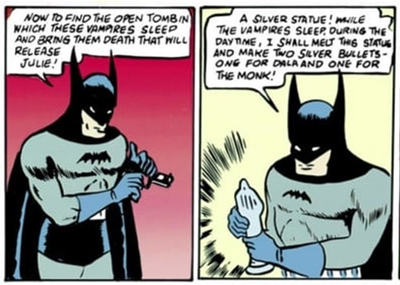 En 1939, Batman era dibujado por Bill Finger y Bob Kane