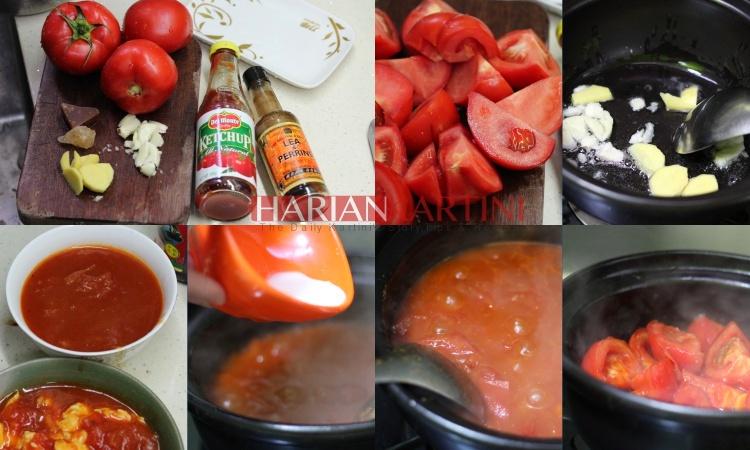 Resep Cara Mengolah Saus Tomat Rumahan Super Lezat