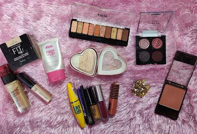 Glam Makeup Look